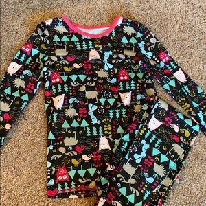 Cuddl Duds Toddler Girl PJs - 4T